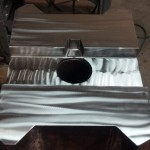 3,500 lb Ram after weld prep, flood weld, and finish machining. Ready to ship to customer.